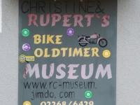 Christine und Rupert´s Bike-Oldtimer-Motorradmuseum