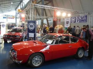 Messestand des Lancia Club Deutschland