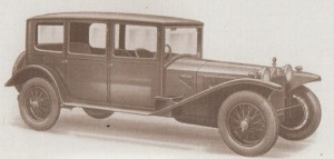Six light Weymann saloon