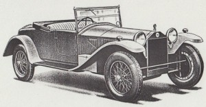 De-luxe two-seater – 6. Serie