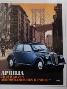 Lancia Aprilia Werbeplakat