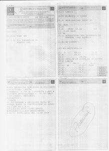 Lancia Flaminia libretto circol. 1